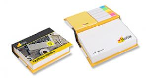 Promosyon Hardcover Sticky Note Set